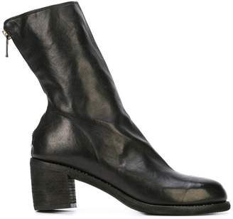 Guidi zip-up ankle boots