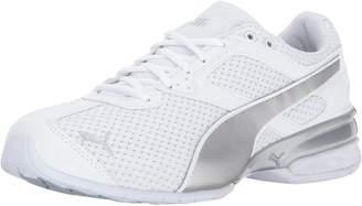Puma Women's Tazon 6 Knit Wn, White Silver