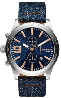 Diesel Men's Rasp Chono Watch, 54mm
