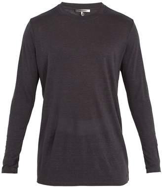 Isabel Marant Kindan linen long-sleeve T-shirt