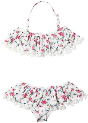 MonnaLisa Floral Printed Lycra Bikini