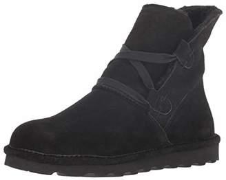 BearPaw Women's ZORA Chukka Boots, (Black Ii 011)