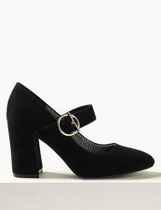 Marks and Spencer Wide Fit Court Shoes