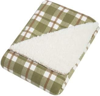 Trend Lab Deer Lodge Faux Shearing Blanket