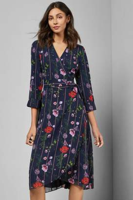 Ted Baker Floral Wrap Dress