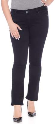 SLINK Jeans Straight Leg Black Jeans