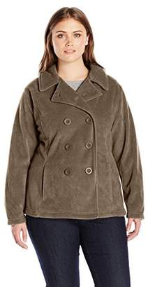 Columbia Women's Plus-Size Benton Springs Pea Coat Plus