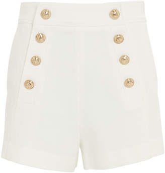 Derek Lam 10 Crosby Tailored White Sailor Shorts