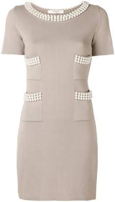 Charlott pearl embellished dress