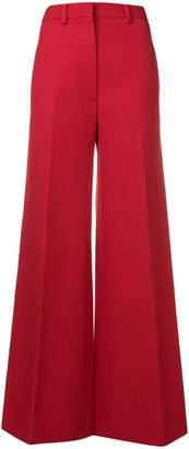 Victoria Beckham high-waist flared trousers
