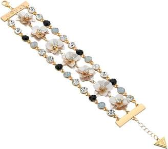 GUESS Floral Motif Line Bracelet Bracelet
