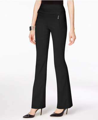 INC International Concepts I.n.c. Zip-Pocket Wide-Leg Pants, Created for Macy's