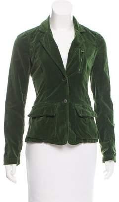Nili Lotan Lightweight Velvet Jacket