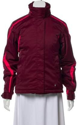 Spyder Zip-Up Layered Coat