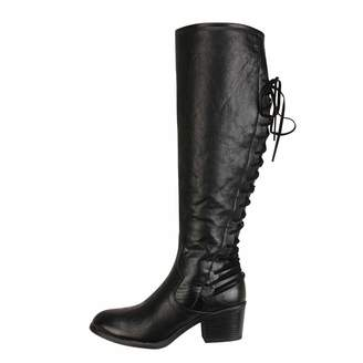 Knee High Boots For Women Wide Calf Leather Liraly Lace Up High Heels Boots  Winter Shoes 69be0c1948