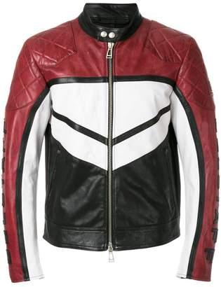 Belstaff colour-block zipped jacket