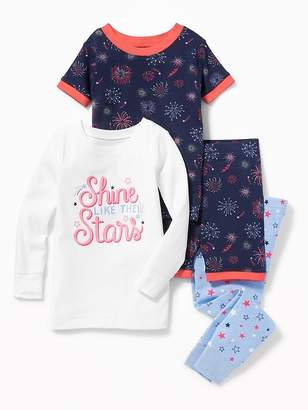 """Old Navy """"Shine Like the Stars"""" 4-Piece Sleep Set for Toddler & Baby"""