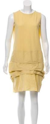 Marni Linen-Blend Shift Dress
