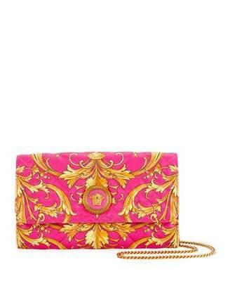 Versace Western Baroque-Print Shoulder Bag