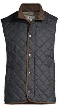 66ab287b16 Peter Millar Men s Crown Essex Quilted Vest