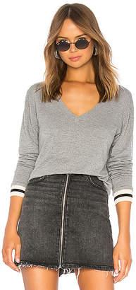 Monrow Supersoft V Neck Pullover