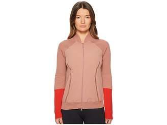 adidas by Stella McCartney Run Ultra Knit Woven Jacket CW1181 Women's Coat