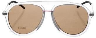 Fendi Tinted Aviator Sunglasses w/ Tags