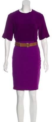 Akris Silk Mini Sheath Dress