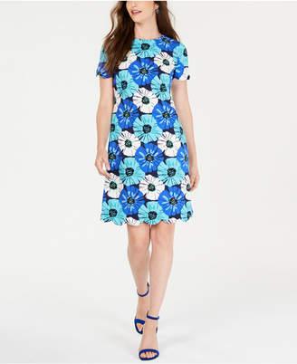 Pappagallo Floral-Print Shift Dress