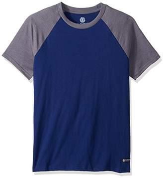Element Men's Basic Raglan Short Sleeve Shirt