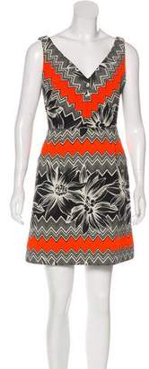 Milly Printed Sleeveless Dress