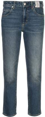 Amo Kate mid rise slim straight jeans
