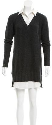 Brochu Walker Wool & Cashmere-Blend Sweater Dress $150 thestylecure.com