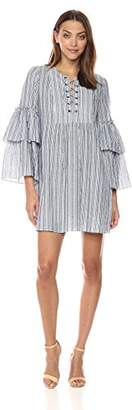 BCBGMAXAZRIA Azria Women's CHARLYZE Woven Casual Dress