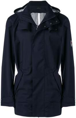 Ermenegildo Zegna hooded trench coat