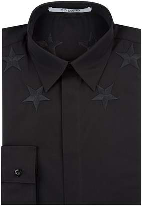 Givenchy Star Embroidered Shirt