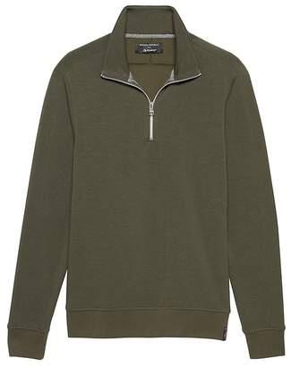 Banana Republic Polartec® Fleece Half-Zip Sweatshirt