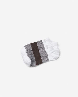 Express Set Of 2 Color Block Space Dyed Athletic Socks