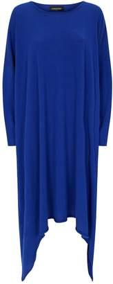 eskandar Cashmere Asymmetric Hem Dress