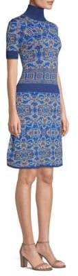 Versace Fit-&-Flare Dress