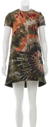 Valentino Brocade A-Line Dress w/ Tags