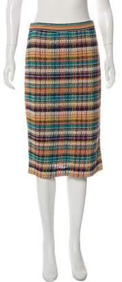 Missoni Printed Knee-Length Skirt