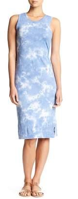 C&C California Tie-Dye Print Maxi Dress