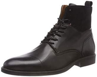 5aecb1cd5c2874 Tommy Hilfiger Men s Essential Material Mix Boot Combat (Black ...
