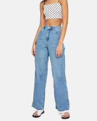 Topshop MOTO Bleach Lightweight Jeans