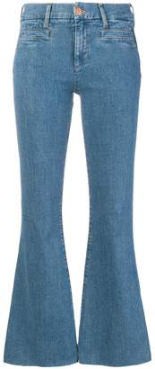 MiH Jeans cropped bell-bottom jeans
