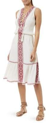 Melissa Odabash Gwyneth Cotton Blouson Dress