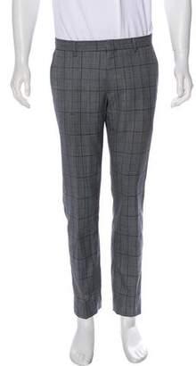 Etro Plaid Wool Pants