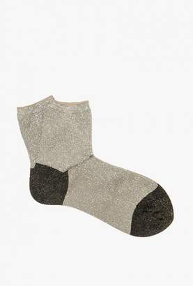 Hansel from Basel Cordy Sparkle Short Crew Sock