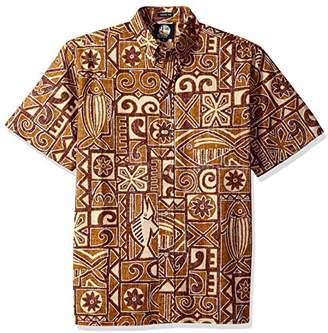 Reyn Spooner Men's Kloth Classic Fit Hawaiian Shirt